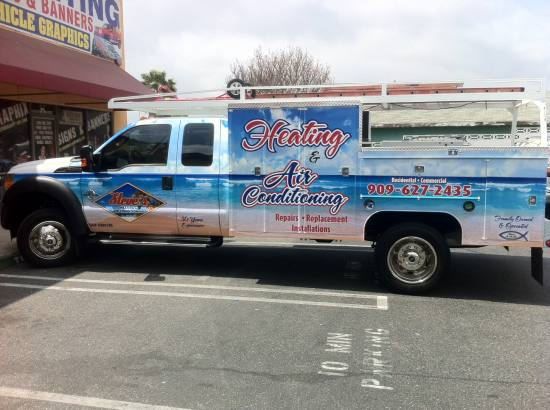 Vehicle Graphics / Wraps - Chino, CA