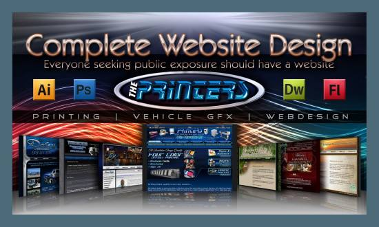 Complete Website Design